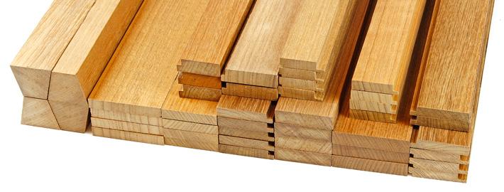 teakribb däckslist list Kärnsund Wood Link