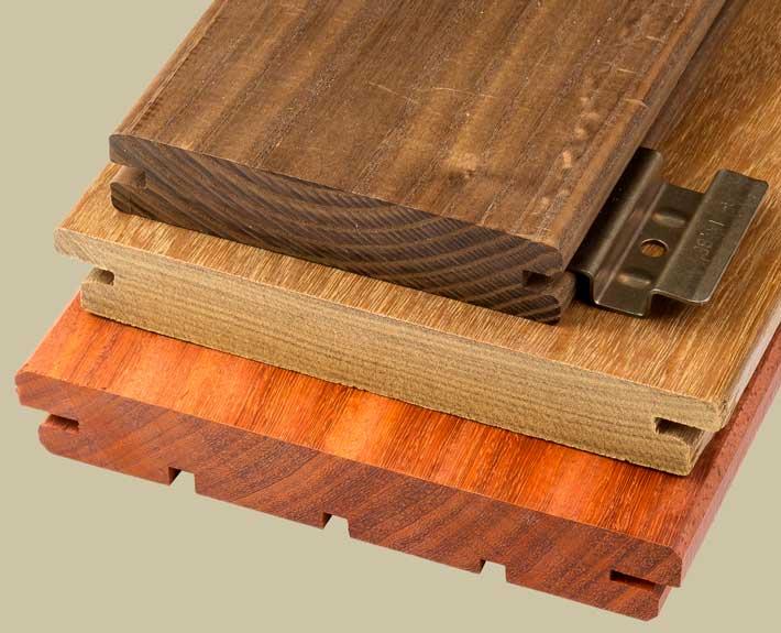 Trall för dolt montage - Kärnsund Wood Link