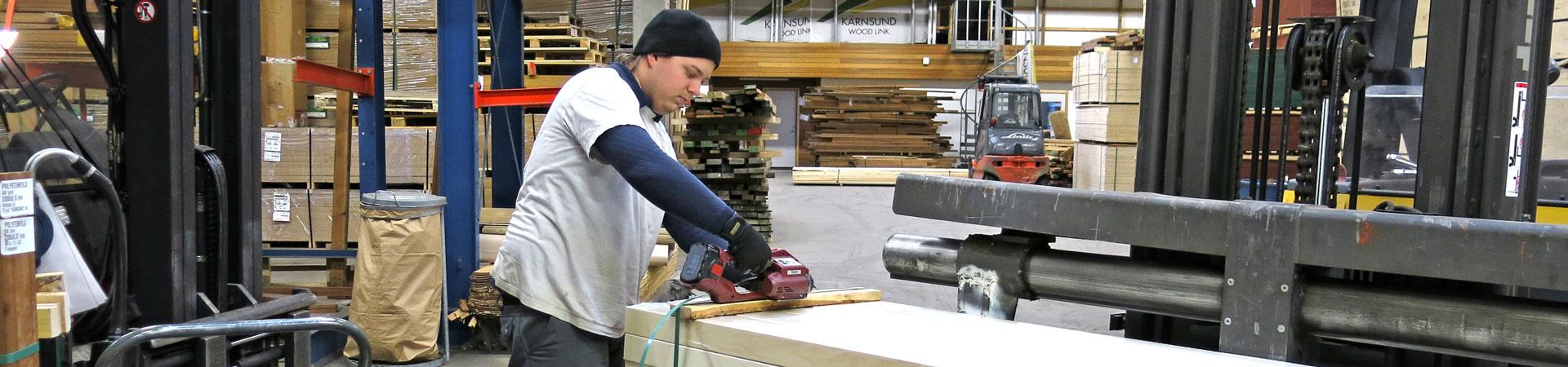 Lager - Kärnsund Wood Link