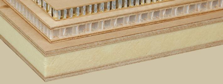 Sandwichskivor lättvikt - Kärnsund Wood Link