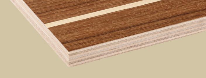 Durkplywood Teak/Koto - Kärnsund Wood Link