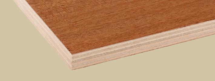 Khaya Mahogny plywood - Kärnsund Wood Link