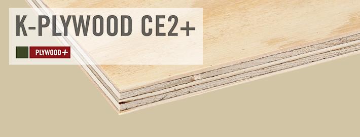 Kampanj på K-Plywood CE2+ Kärnsund Wood Link