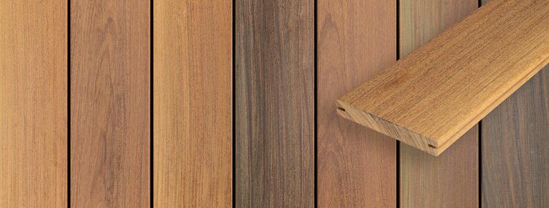 Ipe trall för dolt montage, Kärnsund Wood Link
