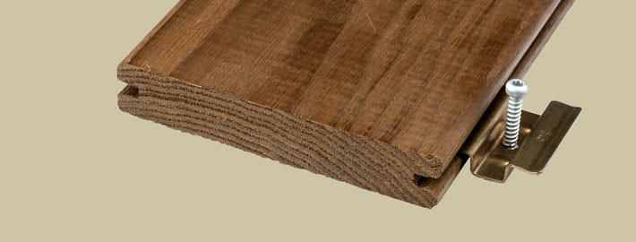 Ask trall värmebehandlad för dolt montage - Kärnsund Wood Link