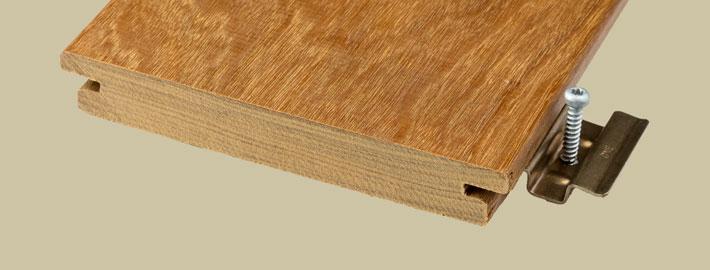 Ipe trall för dolt montage - Kärnsund Wood Link