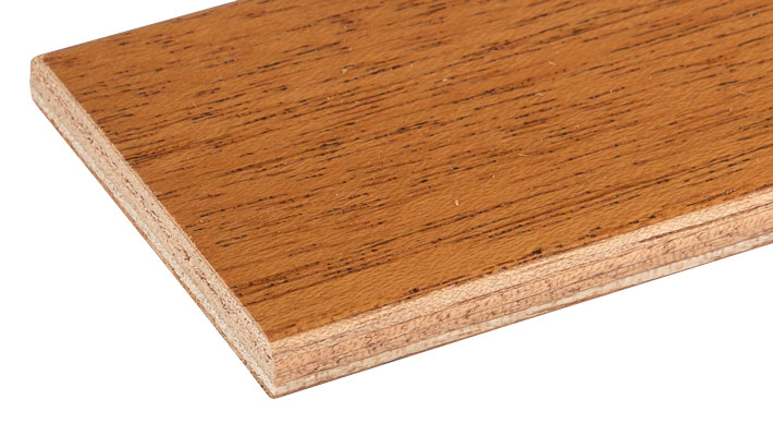 Khaya garneringslist, lackad - Kärnsund Wood Link