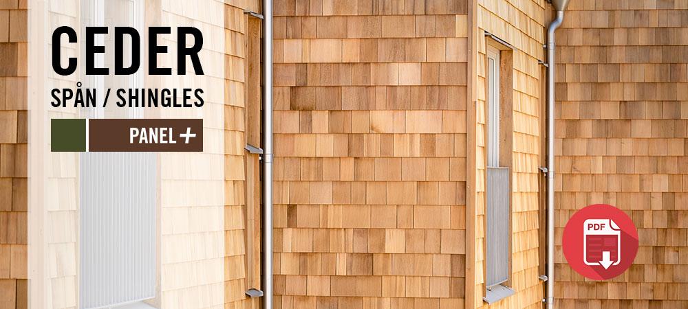 Projektbilder Cederpanel, Cederspån, Kärnsund Wood Link