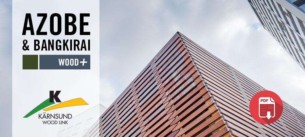 Projektbilder Rinkebyterrassen, Azobe, Bangkirai, Kärnsund Wood Link