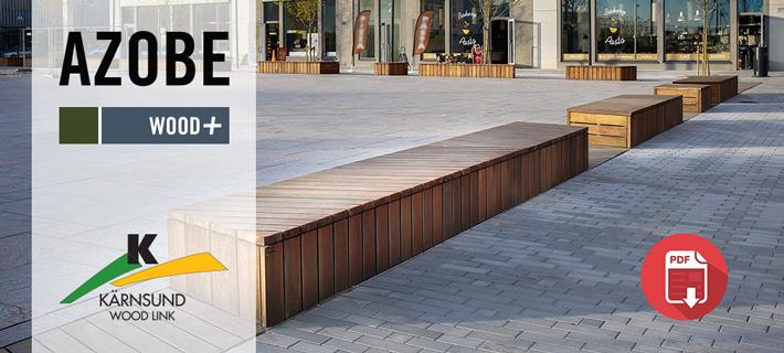 Azobe - Barkaby Järfälla - Kärnsund Wood Link projektbilder