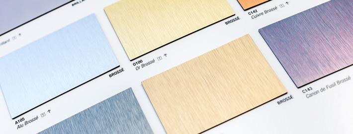 Polyrey Pur Metal högtryckslaminat - Kärnsund Wood Link