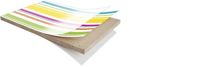 Polyrey Empreinte laminatpanel med digitaltryck - Kärnsund Wood Link