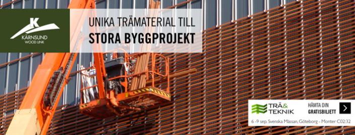 Kärnsund Wood Link på Trä&Teknik, Svenska Mässan