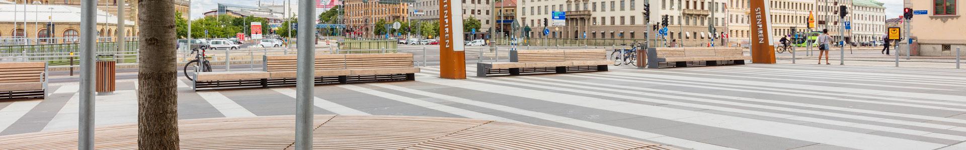 Bilinga, Stenpiren Göteborg, projektbilder Kärnsund Wood Link
