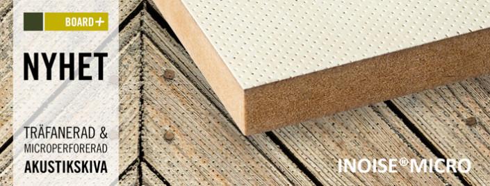 INOISE MICRO, akustikskiva, Europlac, Kärnsund Wood Link