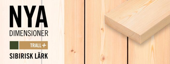 Läktrall 34x145 mm finns nu på lager - Kärnsund Wood Link