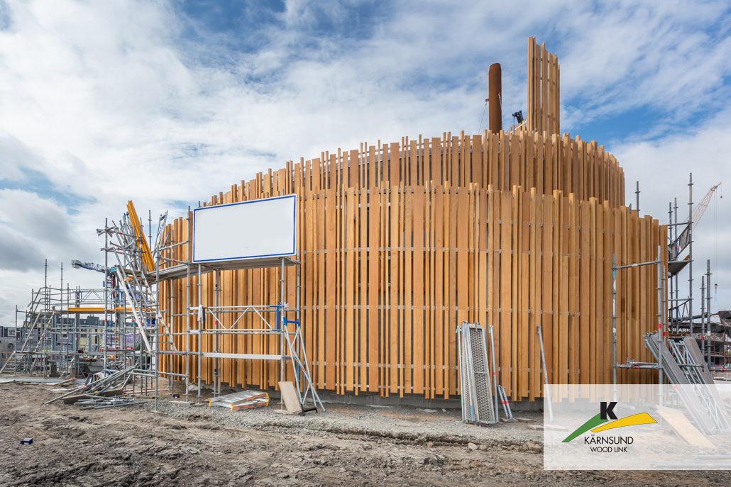 FSC®-certifierat hårdträ i Bilinga från Kärnsund Wood link till sopsugen i Kungälv.