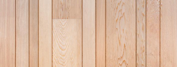 Cederpanel i kundanpassade profiler och dimensioner. Kärnsund Wood Link.