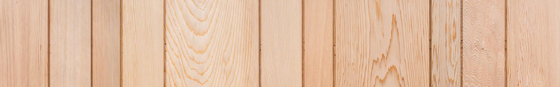 Cederpanel i kundanpassade dimensioner. Kärnsund Wood Link.