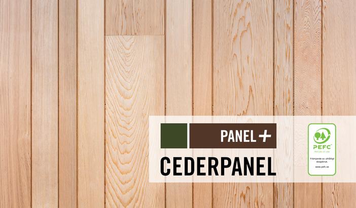 Cederpnael i specialformat, Kärnsund Wood Link
