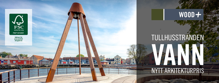 Azobe i nytt arkitekturpris, Kärnsund Wood Link