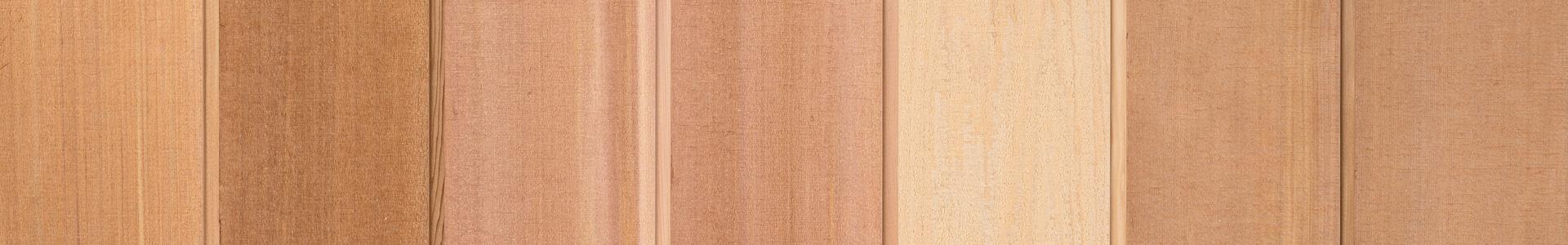 Rakkantad cederpanel 17,5x140 mm. Kärnsund Wood Link