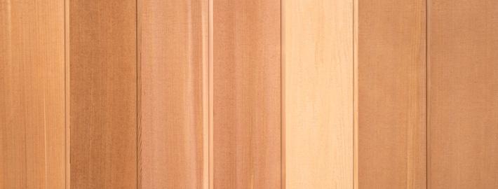 Cederpanel rakkantad och ändspontad, Kärnsund Wood Link