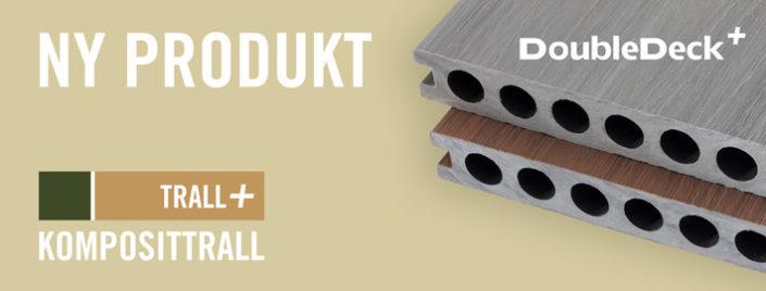 DoubleDeck+, vårt bästa komposittrall någonsin. Kärnsund Wood Link.