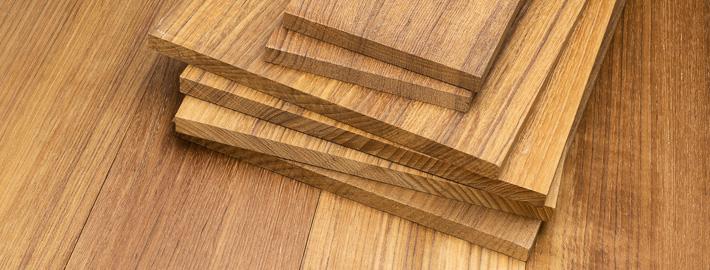 Teaklist, bredvara, Kärnsund Wood Link