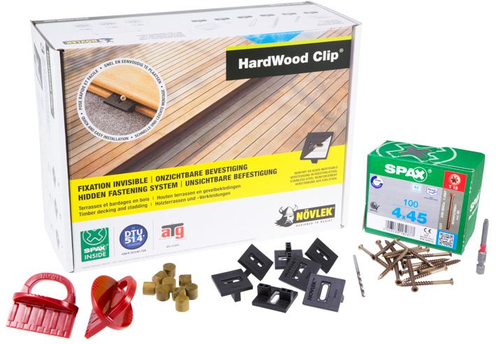 Növlek dolt montage, startbox. Kärnsund Wood Link