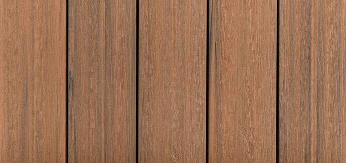 DoubleDeck kapslad komposittrall, färg Nougat, Kärnsund Wood Link