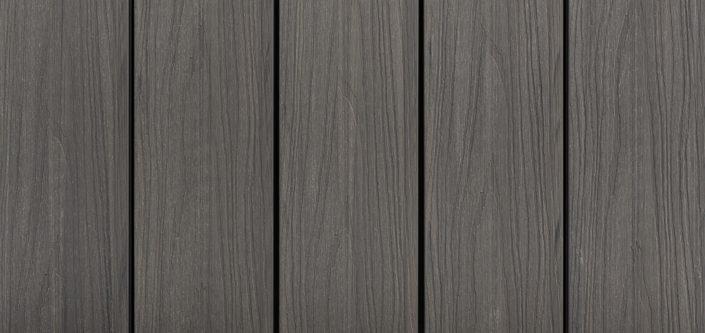 DoubleDeck kapslad komposittrall, färg Anthracite, Kärnsund Wood Link