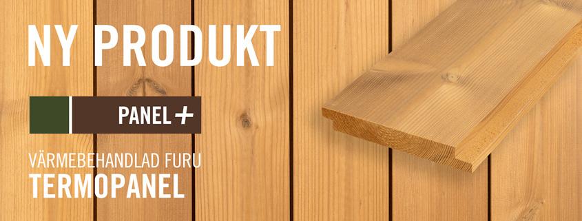 Ny produkt - Termopanel värmebehhandlad Furu, Kärnsund Wood Link