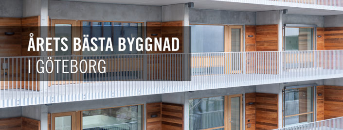 Årets bästa byggnad i Göteborg 2019